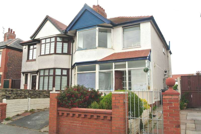 3 Bedrooms Semi Detached House for sale in Westmorland Avenue, Blackpool, FY1 5QW