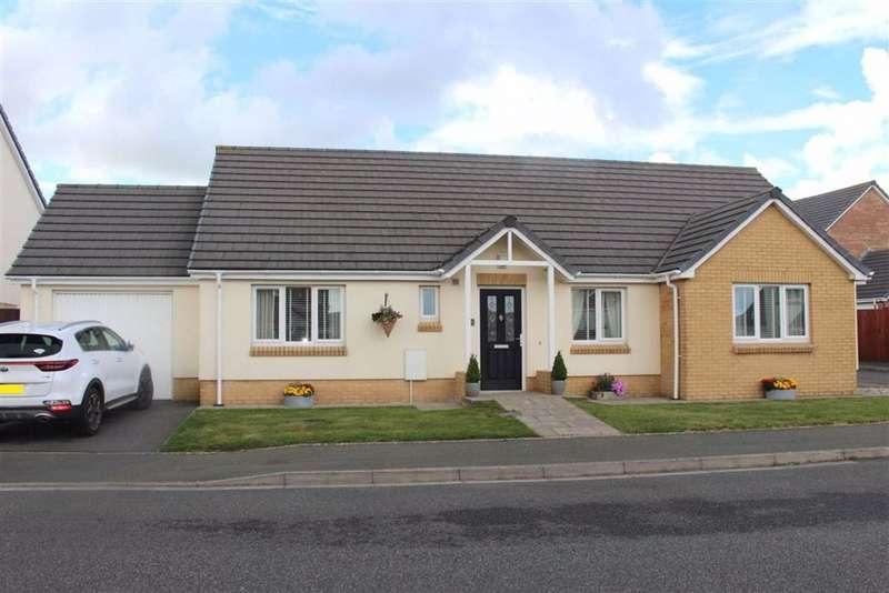 3 Bedrooms Detached Bungalow for sale in Myrtle Meadows, Steynton, Milford Haven