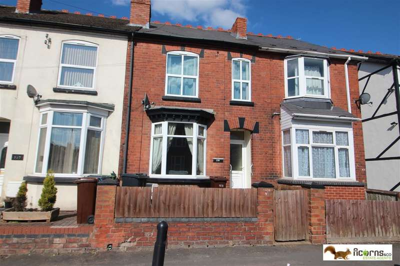 4 Bedrooms Terraced House for sale in Hordern Road, Wolverhampton