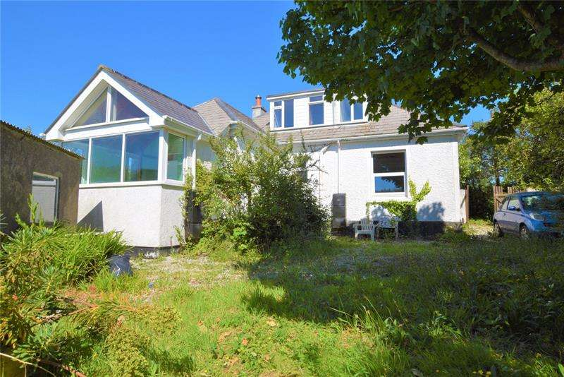 4 Bedrooms Bungalow for sale in Praze-An-Beeble, Trenoweth, Camborne, Cornwall, TR14