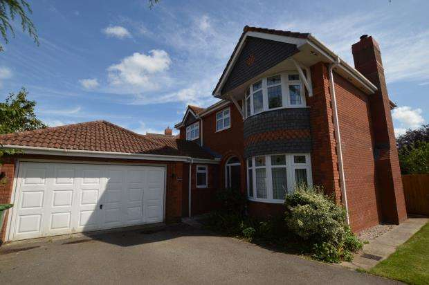 4 Bedrooms Detached House for sale in Berrybrook Meadow, Exminster, Exeter, Devon