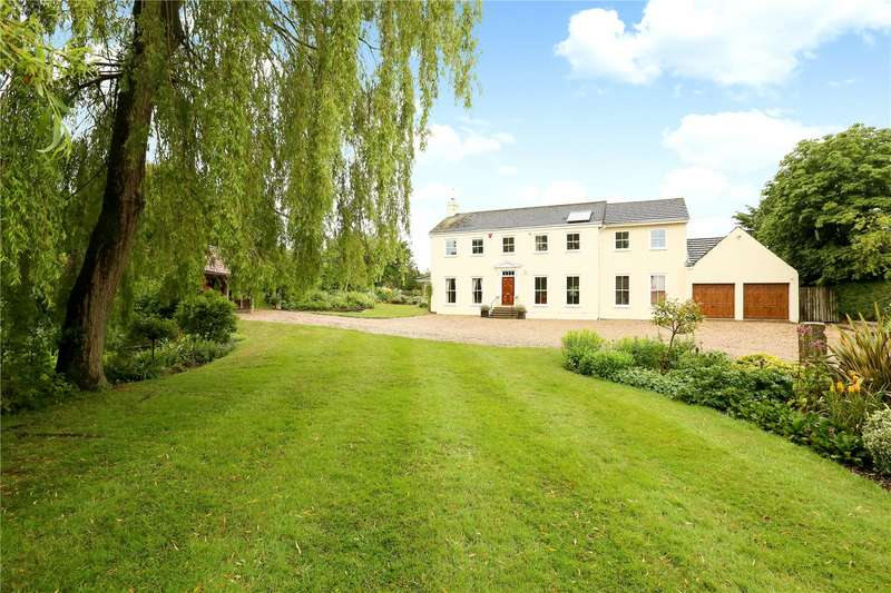 5 Bedrooms Detached House for sale in Butts Lane, Keevil, Wiltshire, BA14