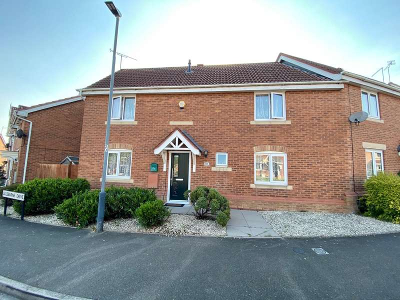 3 Bedrooms Semi Detached House for sale in Lilleburne Drive, The Shires, Nuneaton, CV10