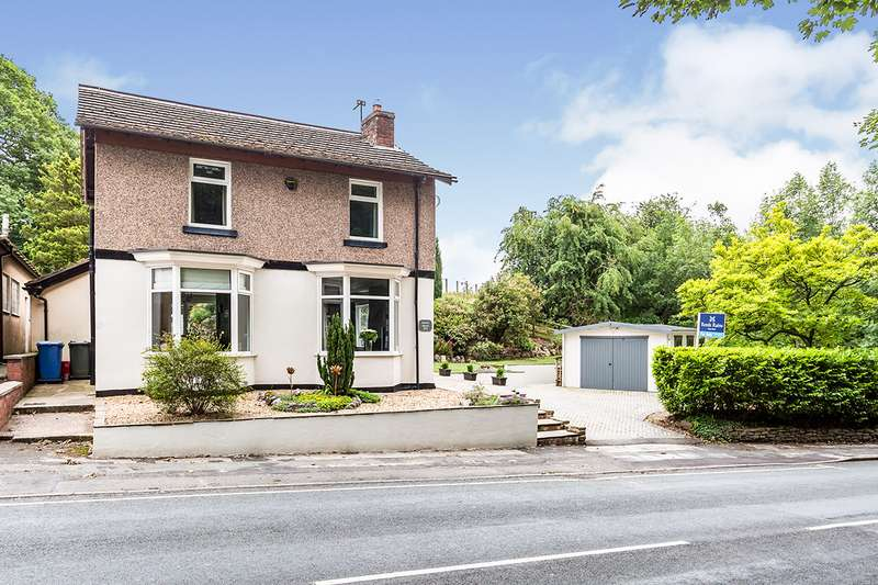 4 Bedrooms Detached House for sale in Wigan Road, Euxton, Chorley, Lancashire, PR7