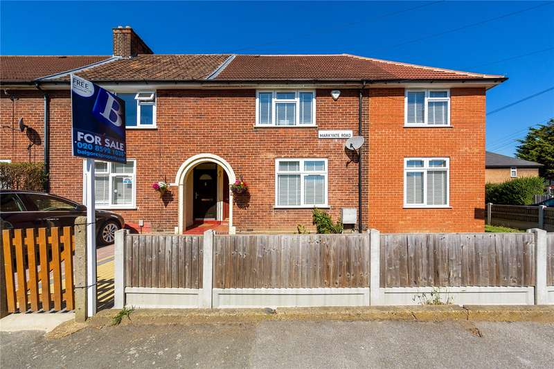 4 Bedrooms End Of Terrace House for sale in Markyate Road, Dagenham, RM8