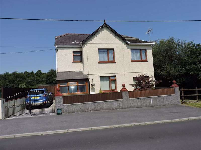 4 Bedrooms Detached House for sale in Heol Brown, Tycroes