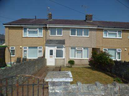3 Bedrooms Terraced House for sale in Morfa'r Garreg, Pwllheli, Gwynedd, LL53