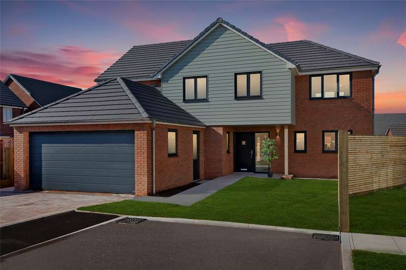 4 Bedrooms Detached House for sale in Off Old Rydon Close, Exeter