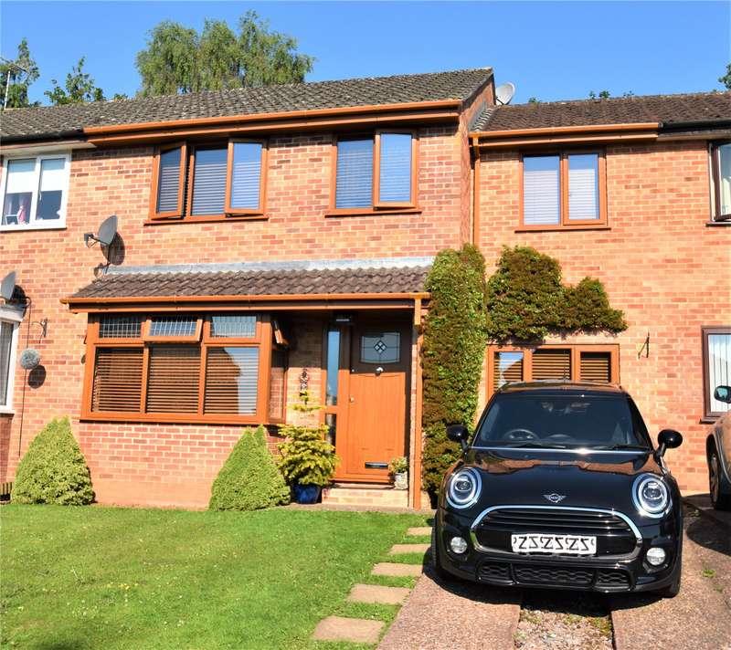 4 Bedrooms Terraced House for sale in Oaklea, Tiverton, Devon, EX16