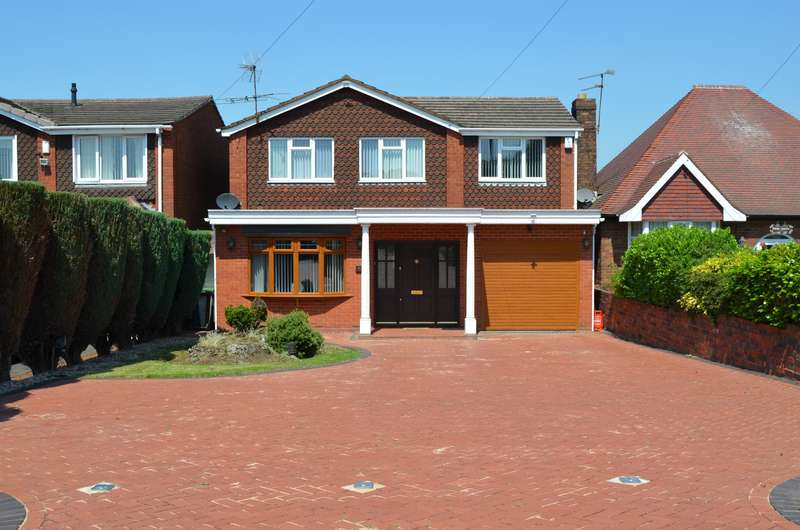 4 Bedrooms Detached House for sale in Coopers Bank Road, Gornal Wood, DY3 2PT