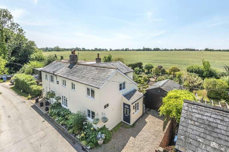 3 Bedrooms Semi Detached House for sale in Upsher Green, Great Waldingfield, Sudbury, Suffolk, CO10