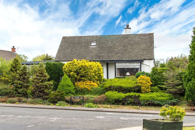 2 Bedrooms Detached Bungalow for sale in Avalon, Abbotsford Road, Darnick, Melrose, Scottish Borders, TD6