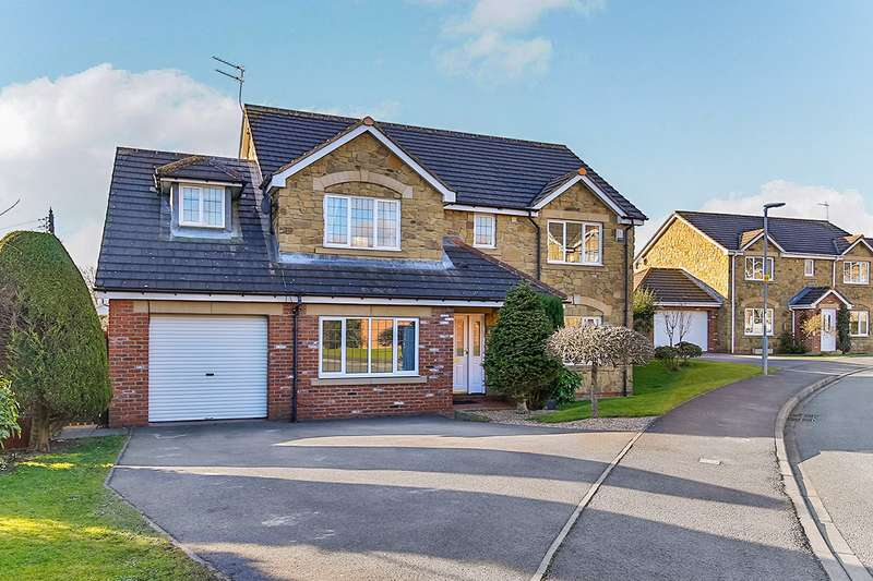 5 Bedrooms Detached House for sale in Priory Gardens, Willington, Crook, County Durham, DL15