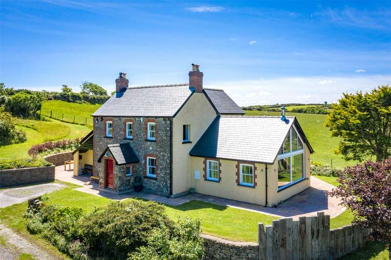 4 Bedrooms Detached House for sale in Pantygalchfa, St Dogmaels Rural, Cardigan, Pembrokeshire