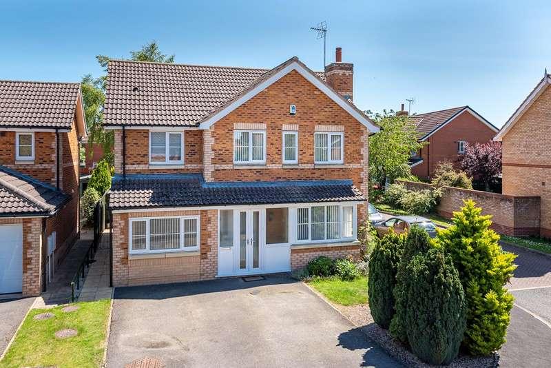 4 Bedrooms Detached House for sale in 16 Lakeside Way, Norton, Malton, YO17 9PG