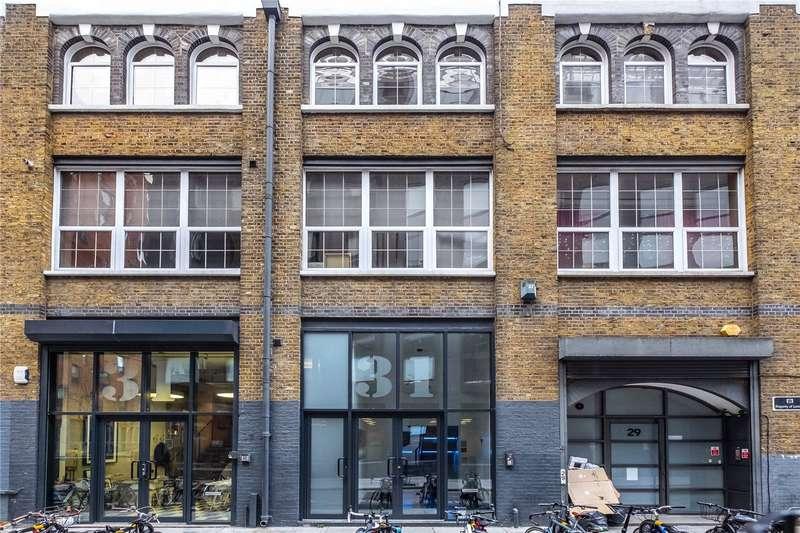 3 Bedrooms Flat for sale in Corsham Street, London, N1