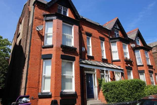 6 Bedrooms Terraced House for rent in Rutland Avenue, Liverpool, L17