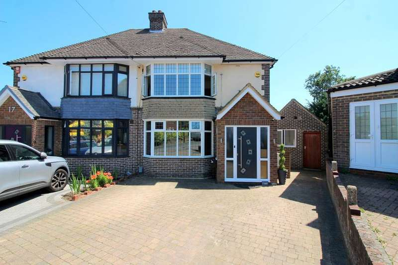 4 Bedrooms Semi Detached House for sale in Graham Gardens, Luton, Bedfordshire, LU3 1NF