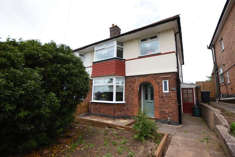 3 Bedrooms Semi Detached House for sale in Ratcliffe Road, Sileby, Loughborough