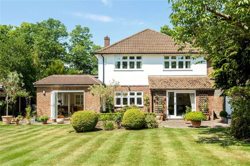 4 Bedrooms Detached House for sale in Kingston Hill, Kingston upon Thames, KT2