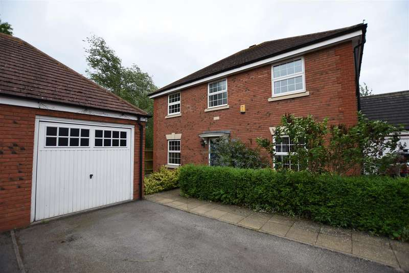 4 Bedrooms Detached House for sale in Holmestead Close, Costock, Loughborough
