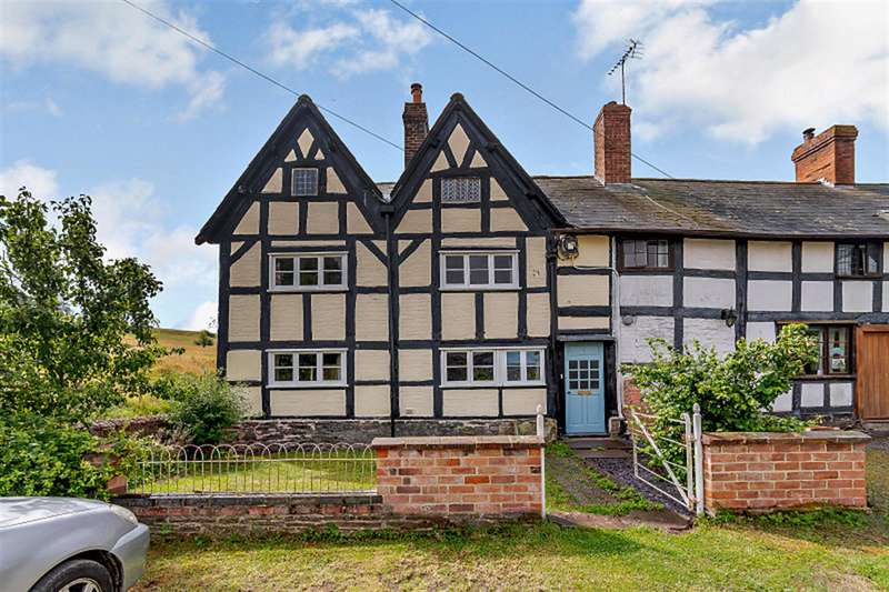 3 Bedrooms End Of Terrace House for sale in 1 Old hall Cottages, Brierley, Leominster, HR6 0NU