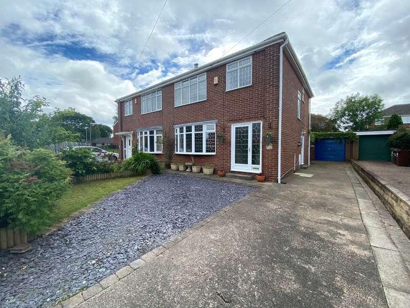 3 Bedrooms Semi Detached House for sale in Fairfield Walk, Ossett, West Yorkshire, WF5
