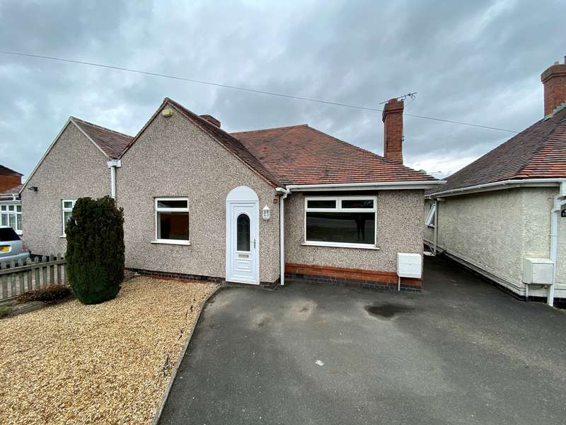2 Bedrooms Semi Detached Bungalow for sale in Ansley Road, Stockingford, Nuneaton, CV10