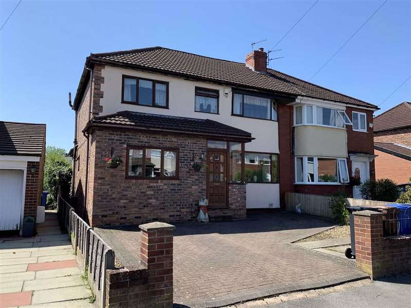 4 Bedrooms Semi Detached House for sale in Beauvale Avenue, Offerton, Stockport