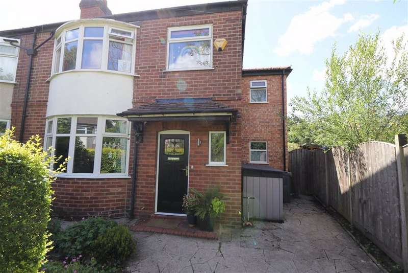 4 Bedrooms Semi Detached House for sale in Maidstone Avenue, Chorlton, Manchester, M21