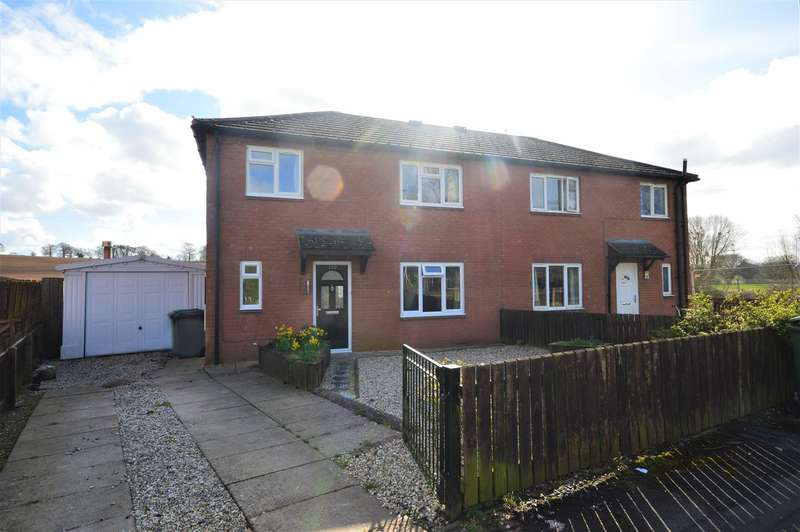 4 Bedrooms Semi Detached House for sale in Humber Close, Steensbridge, Leominster
