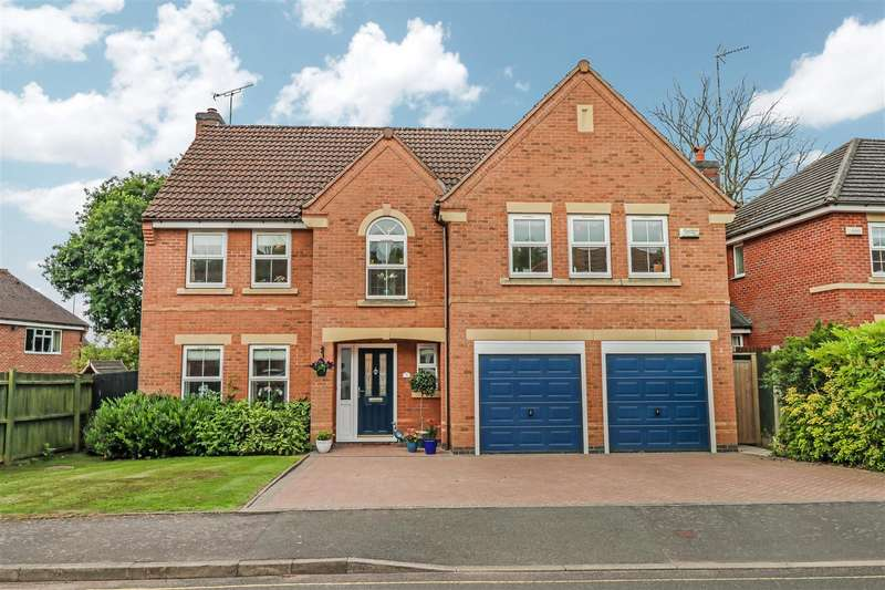 5 Bedrooms Detached House for sale in Heath Green Way, Westwood Heath, Coventry