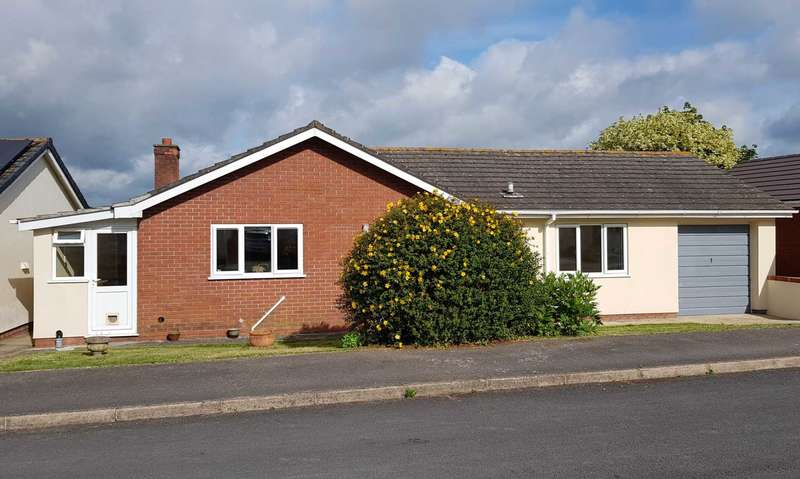 3 Bedrooms Detached Bungalow for sale in Marlborough Close, Musbury, Axminster