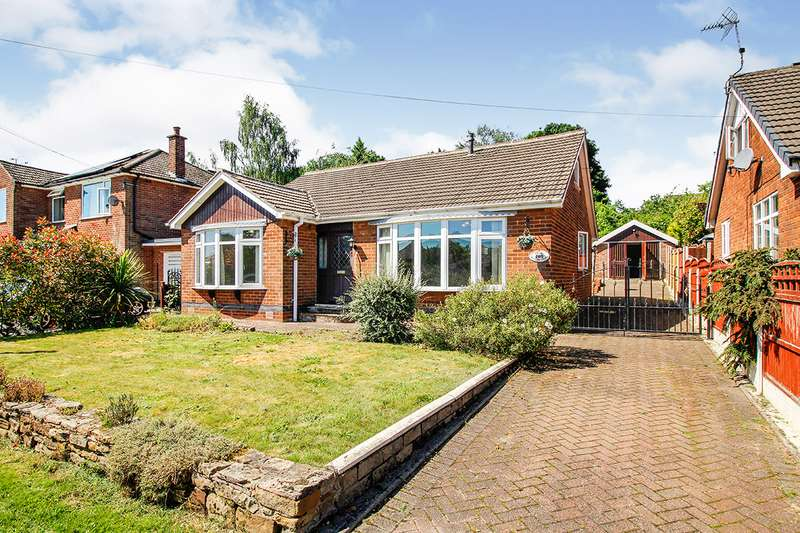 3 Bedrooms Detached Bungalow for sale in Woodland Grove, Old Tupton, Chesterfield, Derbyshire, S42