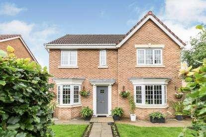 4 Bedrooms Detached House for sale in Anderton Crescent, Buckshaw Village, Chorley, Lancashire