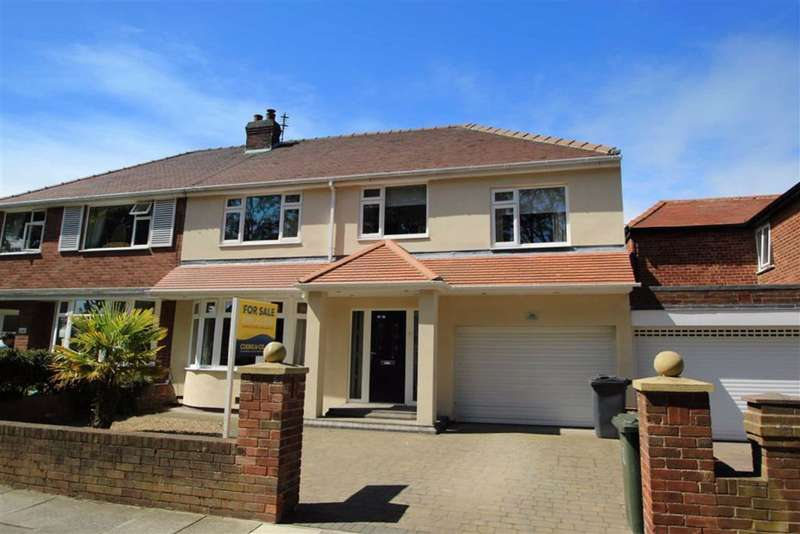4 Bedrooms Semi Detached House for sale in The Broadway, Tynemouth, Tyne And Wear, NE30