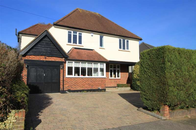 4 Bedrooms Detached House for sale in Meadway, Ruislip, HA4