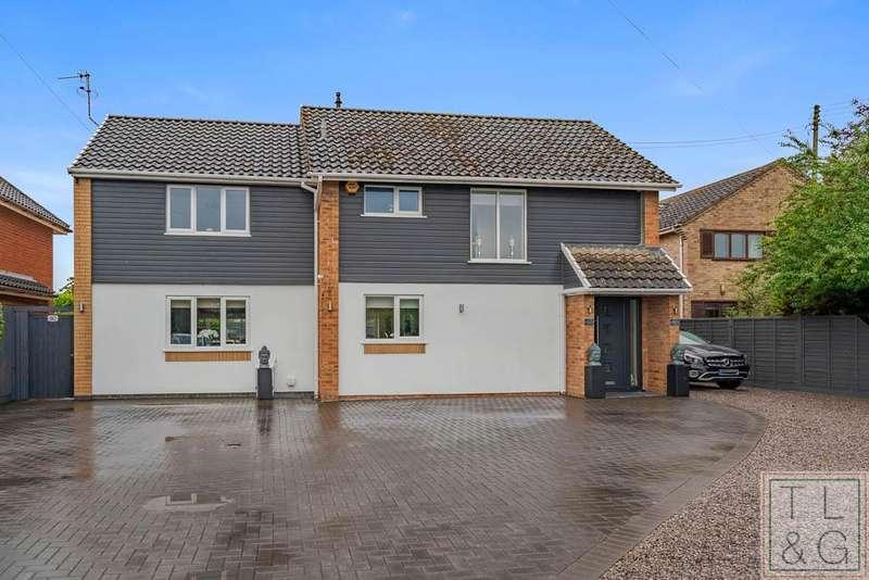 4 Bedrooms Detached House for sale in Bretforton Road, Badsey, Evesham