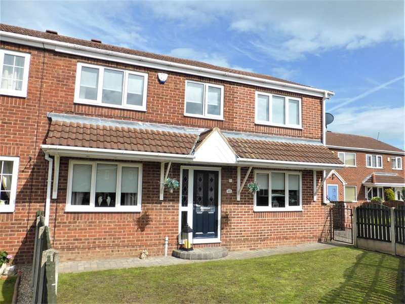 4 Bedrooms Semi Detached House for sale in Pagnall Avenue, Thurnscoe, S63 0RF