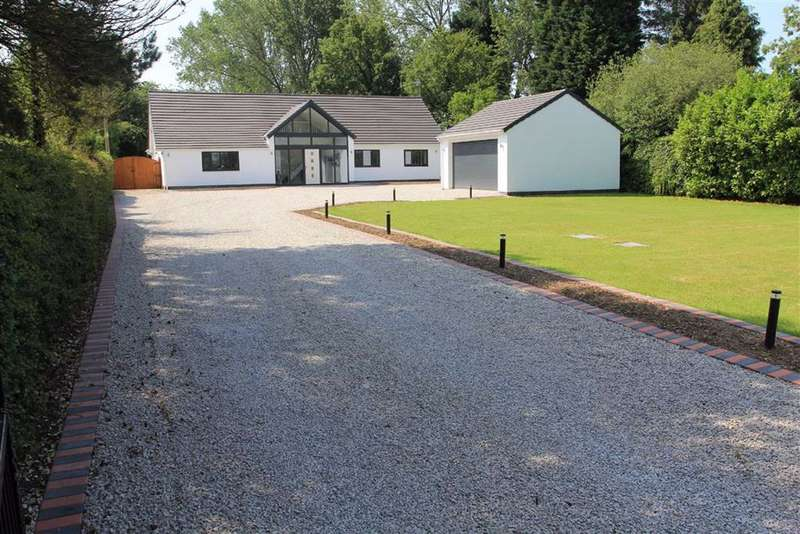 5 Bedrooms Detached Bungalow for sale in Leicester Lane, Desford, Leicestershire
