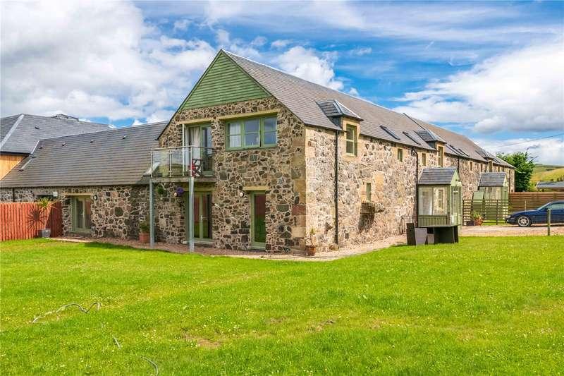 5 Bedrooms Semi Detached House for sale in 3 Blinkbonny Farm Steading, By Dunbog, Cupar, Fife, KY14