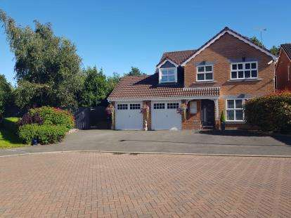 5 Bedrooms Detached House for sale in Stroma Avenue, Stanney Oaks, Ellesmere Port, Cheshire, CH65