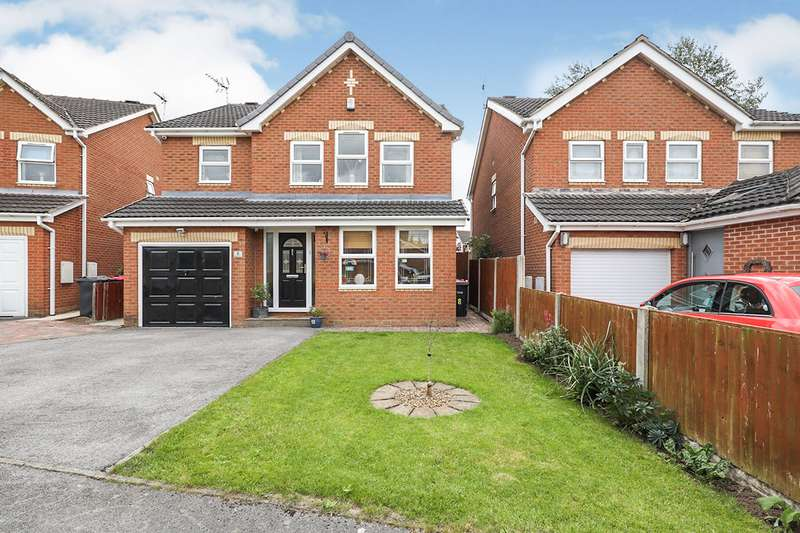 4 Bedrooms Detached House for sale in Roddis Close, Dinnington, Sheffield, South Yorkshire, S25