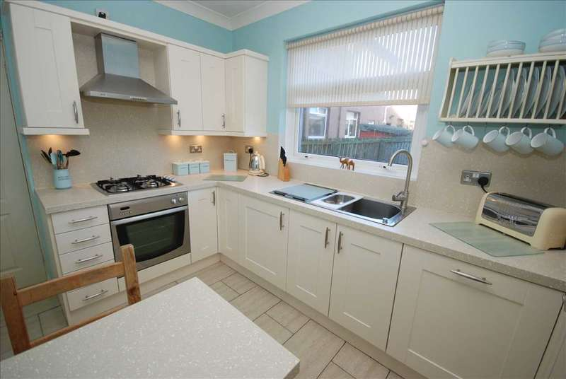 3 Bedrooms Semi Detached House for sale in Sannox Drive, Saltcoats