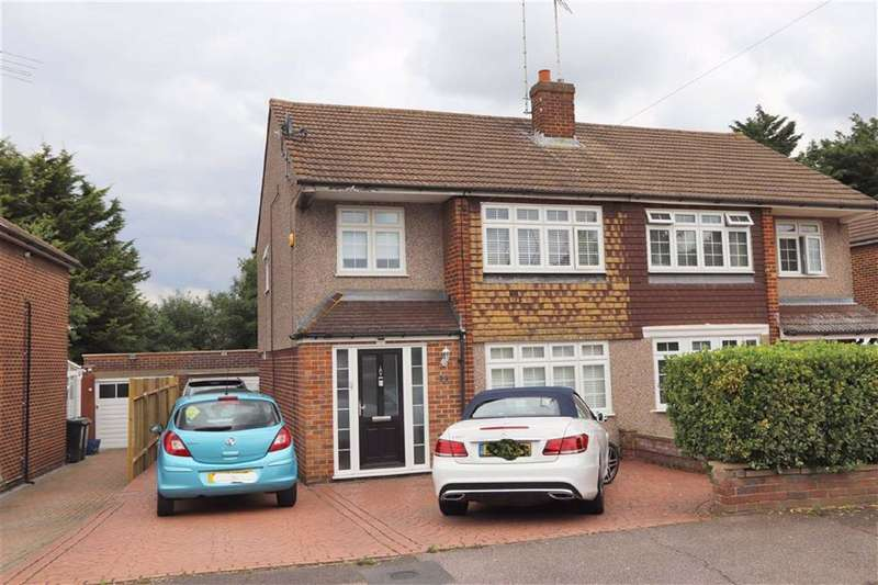 4 Bedrooms Semi Detached House for sale in Honey Brook, Waltham Abbey