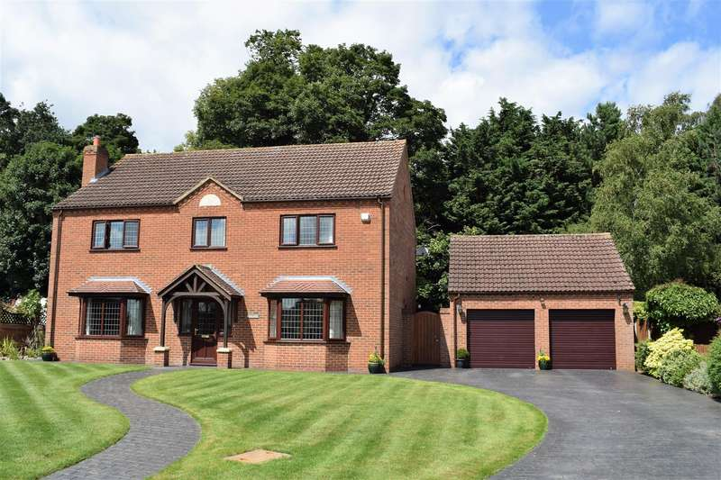 4 Bedrooms Detached House for sale in Old Vicarage Park, Scawby