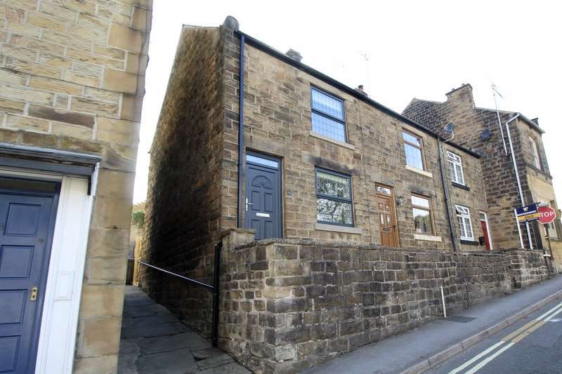 2 Bedrooms End Of Terrace House for sale in Chesterfield Road, Dronfield, Derbyshire, S18