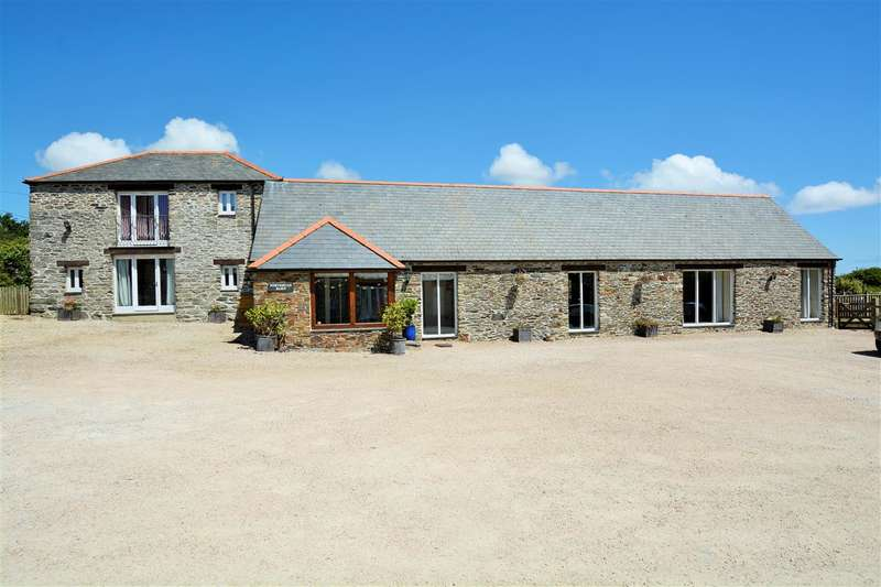 4 Bedrooms Barn Conversion Character Property for sale in Edge Of Rosevine, Portscatho, Cornwall. TR2