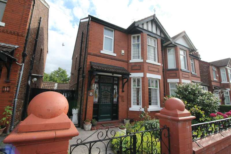 3 Bedrooms Semi Detached House for sale in Lytham Road, Manchester, Greater Manchester, M19
