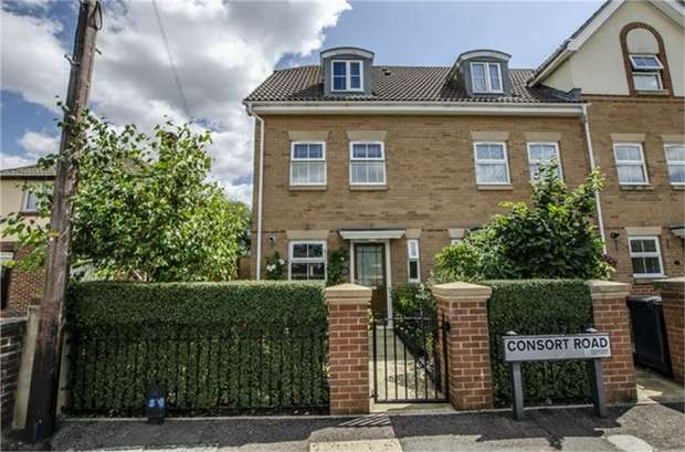 3 Bedrooms End Of Terrace House for sale in 114 Consort Road, EASTLEIGH, Hampshire